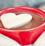 chocolat chaud au marshmallows