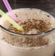 milk shake au cacao