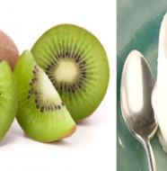 recette petit suisse au kiwi