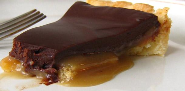 recette tarte chocolat et caramel facile. Black Bedroom Furniture Sets. Home Design Ideas