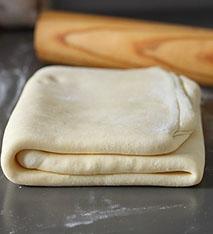 plier pâte feuilletée