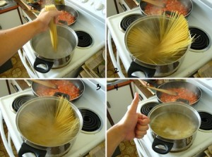 cuisson pâte
