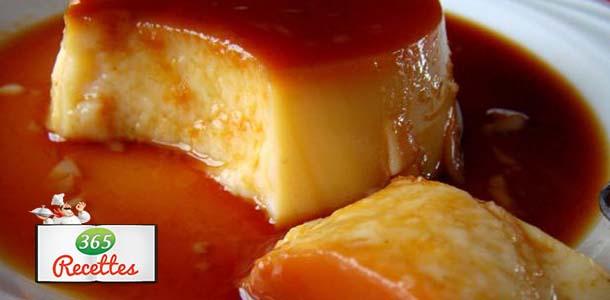 Recette flan caramel maison inratable tr s facile - Flan de maison ...