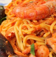 recette facile spaghetti aux fruits de mer