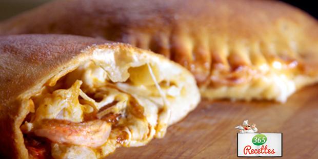 Recette Pizza Calzone Maison De Cyril Lignac