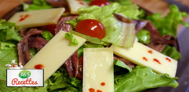 salade d'anchois