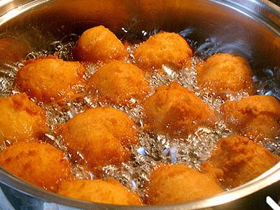 beignets à frire