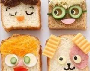 décorer nourriture enfant