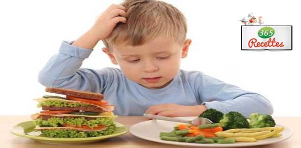 nourriture enfant