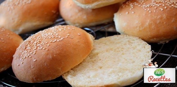 recette petits pains pour hamburgers maison facile faire. Black Bedroom Furniture Sets. Home Design Ideas