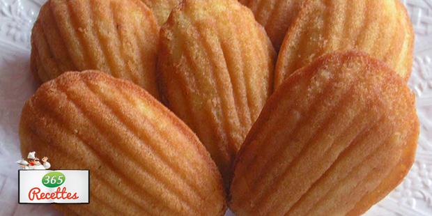Recette facile de madeleines au miel - Gateau pour le petit dejeuner ...