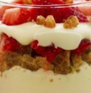recette facile verrines fraises mascarpone