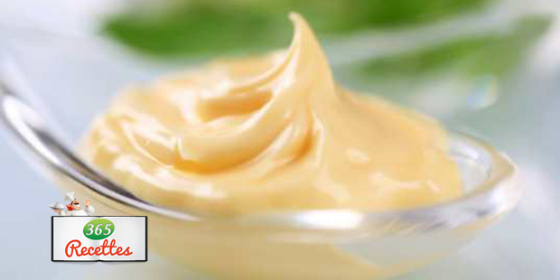 Recette de la sauce mayonnaise maison au thermomix - Recette mayonnaise au mixeur ...