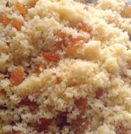 mesfouf : couscous sucré