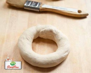 préparation bagel fait maison