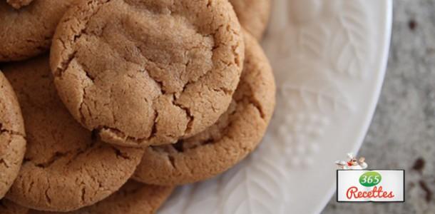 cookies simple sans beurre très léger