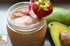 recette smoothies avocats et fraises