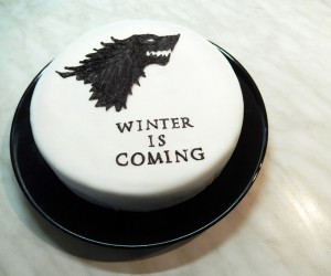 winter is coming throne