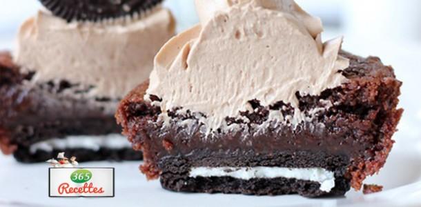 recette cupcakes nutella oreo