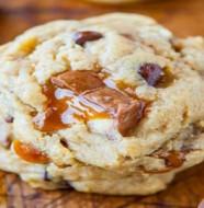 recette twix cookies