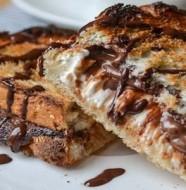 sandwish au nutella et au fromage
