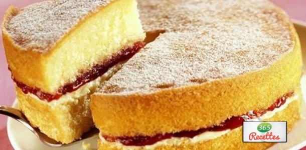 recette sponge cake