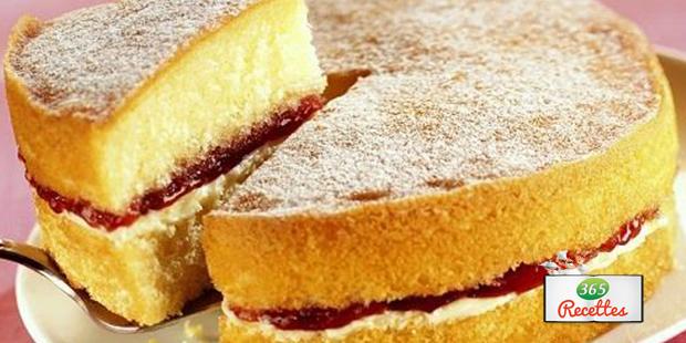 Recette Sponge cake à laméricaine