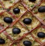 recette pissaladière avec de la pâte brisée