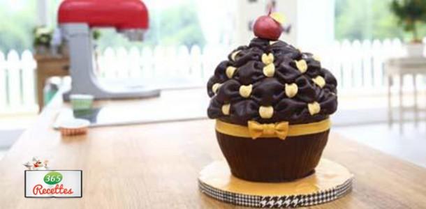 recette cupcake geant meilleur patissier
