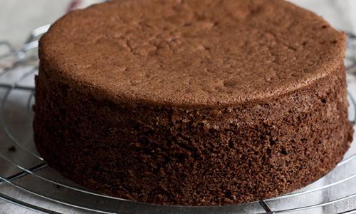 Gateau anniversaire genoise au chocolat