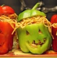idée de repas pour halloween spaghetti