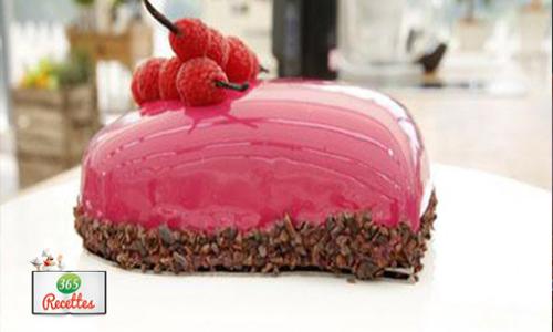 glaçage brillant rose meilleur pâtissier