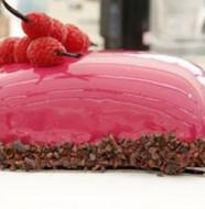 recette glaçage effet miroir rose facile