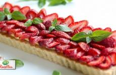 recette tartes aux fraises façon cyril lignac