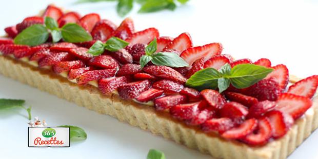 Tarte aux fraises fa on cyril lignac - Pate a gaufre cyril lignac ...