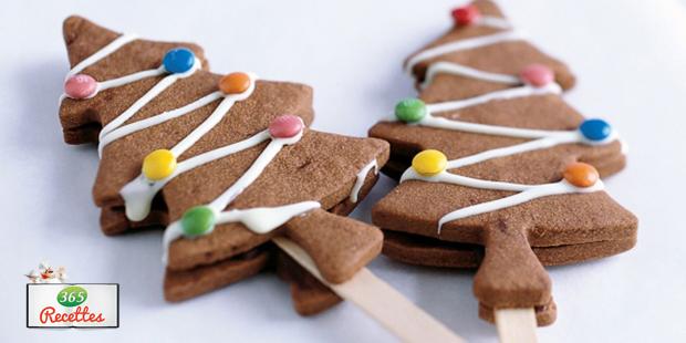 Recette Biscuits Chocolat En Forme De Sapin De Noel