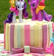 recette gâteau d'anniversaire my little Pony