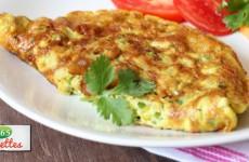 recette omelette au gruyère et fine herbes