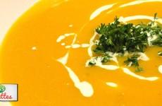 soupe crémeuse de potimarron de Cyril Lignac