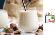 milkshake marrons et lait de soja